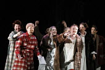 THE NOSE   by Dimitri Shostakovich   conductor: Patrick Bailey   director: John Fulljames,the company,The Opera Group / Brighton Festival / Brighton, Sussex, England   17/05/2006,