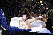 THE NOSE   by Dmitry Shostakovich   based on the story by Gogol   conductor: Valery Gergiev   director: Yury Alexandrov,Avgust Amonov (The Nose),Mariinsky (Kirov) Opera / London Coliseum  WC2      20/...