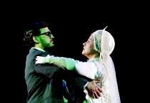 'LADY MACBETH OF MTSENSK' (Shostakovich)~Katerina dances with an apparition of her murdered husband: Rhys Meirion (Zinovy Ismailova), Vivian Tierney (Katerina Ismailova)~English National Opera (ENO)/L...