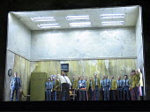 LADY MACBETH OF MTSENSK by Shostakovich  conductor: Antonio Pappano   director: Richard Jones~in white shirt: Roderick Earle (Police Inspector)~The Royal Opera / Covent Garden   London WC2         01/...