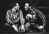 BENT   by Martin Sherman   director: Robert Chetwyn,l-r: Ian McKellen (Max), Tom Bell (Horst) ,Royal Court Theatre, London SW1            03/05/1979,