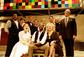 'COMPANY' (Sondheim/Furth, directed by Sam Mendes)~the company~Donmar Warehouse, London WC2              12/1995