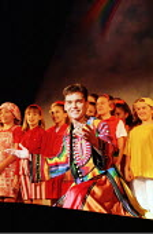 'JOSEPH AND THE AMAZING TECHNICOLOR DREAMCOAT' (Lloyd Webber/Rice)                                  ~Phillip Schofield (Joseph)~Labatt's Apollo Hammersmith. London W6               27/02/1996