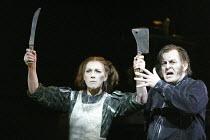 'SWEENEY TODD' (Sondheim - director: Neil Armfield)~Felicity Palmer (Mrs Lovett), Thomas Allen (Sweeney Todd)~The Royal Opera /   Covent Garden, London WC2       15/12/2003
