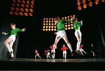 THE BEAUTIFUL GAME music: Andrew Lloyd Webber book & lyrics: Ben Elton set design: Michael Levine costumes: Joan Bergin lighting: Jean Kalman choreography: Meryl Tankard  director: Robert Carsen  ~lef...