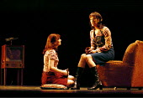 THE BEAUTIFUL GAME music: Andrew Lloyd Webber book & lyrics: Ben Elton set design: Michael Levine costumes: Joan Bergin lighting: Jean Kalman choreography: Meryl Tankard  director: Robert Carsen  ~l-r...