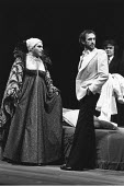 THE TAMING OF THE SHREW   by Shakespeare   ,director: Michael Bogdanov   design: Chris Dyer ,David Suchet (Grumio/Page), Jonathan Pryce (Sly/Petruchio),Royal Shakespeare Company / Royal Shakespeare Th...