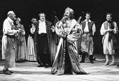 THE TAMING OF THE SHREW   by Shakespeare - director: Barry Kyle,Induction:/i - centre (rear) Raymond Bowers (The Lord), (fore) Geoffrey Freshwater (Christopher Sly)),Royal Shakespeare Company / Royal...