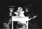 THE TAMING OF THE SHREW   by Shakespeare   director: Barry Kyle,l-r: Mark Rylance (Lucentio), Alice Krige (Bianca), Ian Talbot (Hortensio),Royal Shakespeare Company / Royal Shakespeare Theatre, Stratf...