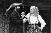 THE TAMING OF THE SHREW   by Shakespeare - director: Toby Robertson,Timothy Dalton (Petruchio), Vanessa Redgrave (Katherina),Theatre Royal Haymarket, London SW1                   10/06/1986,