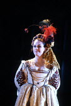 THE TAMING OF THE SHREW  by Shakespeare  design: Tim Goodchild  director: Bill Alexander <br>~Amanda Harris (Katherine) ~Royal Shakespeare Company (RSC), Royal Shakespeare Theatre, Stratford-upon-Avon...