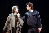 'CORIOLANUS' (Shakespeare - director: Peter Hall)~Irene Worth (Volumnia), Ian McKellen (Coriolanus)~National Theatre / London, England                    1984