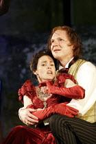 'RICHARD II' (Shakespeare - director: Steven Berkoff),Julia Tarnoky (Queen Isabel), Timothy Walker (King Richard II),Ludlow Festival, Ludlow Castle / Shropshire, England                       27/06/20...