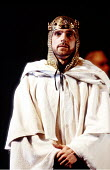 RICHARD II  by Shakespeare  design: William Dudley  lighting: Mark Henderson  fights: Malcolm Ranson  director: Barry Kyle <br>~Jeremy Irons (Richard II) ~Royal Shakespeare Company (RSC), Royal Shakes...