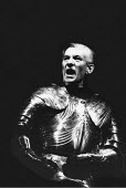 RICHARD III  by Shakespeare  design: Bob Crowley  lighting: Jean Kalman  choreography: Jane Gibson  director: Richard Eyre ~Ian McKellen (Richard)  ~Lyttelton Theatre, National Theatre (NT), London SE...