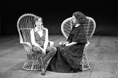 TWELFTH NIGHT   by Shakespeare,l-r: Eileen Atkins (Viola), Louise Purnell (Olivia),Prospect Theatre Company / Old Vic Theatre, London SE1               1978,