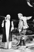'TWELFTH NIGHT' (Shakespeare - director: John Caird),l-r: Emrys James (Malvolio), John Thaw (Sir Toby Belch),Royal Shakespeare Company / Royal Shakespeare Theatre   Stratford-upon-Avon   04/1983...