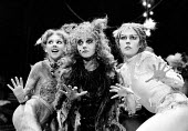 CATS based on T. S. Eliot's 'Old Possum's Book of Practical Cats' composer: Andrew Lloyd Webber design: John Napier lighting: David Hersey choreography: Gillian Lynne director Trevor Nunn~l-r: Bonnie...