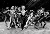 CATS based on T. S. Eliot's 'Old Possum's Book of Practical Cats' composer: Andrew Lloyd Webber design: John Napier lighting: David Hersey choreography: Gillian Lynne director Trevor Nunn~front centre...