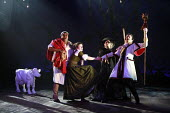 INTO THE WOODS   music & lyrics: Stephen Sondheim   book: James Lapine   conductor: James Holmes   design: Lez Brotherston   director: Will Tuckett <br>,Clive Rowe (Baker), Anna Francolini (Baker^s Wi...