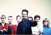 Peter Sellars ,American theatre, stage, drama, opera director   at a rehearsal of Handel's 'Theodora' at Glyndebourne 1996 ,   ,