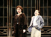 TWELFTH NIGHT   by Shakespeare   director: Philip Franks <br>,l-r: Kate Fleetwood (Olivia), Laura Rees (Viola),Chichester Festival Theatre / West Sussex, England          20/07/2007,