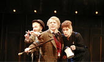 TWELFTH NIGHT   by Shakespeare   director: Neil Bartlett <br>,l-r: Joanne Howarth (Fabian), Marjorie Yates (Sir Toby Belch), Siobhan Redmond (Maria),Royal Shakespeare Company / Courtyard Theatre, Stra...