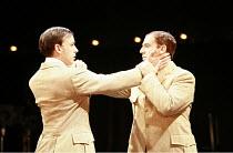 TWELFTH NIGHT   by Shakespeare   director: Neil Bartlett <br>,l-r: Chris New (Viola), Iain McKee (Sebastian),Royal Shakespeare Company / Courtyard Theatre, Stratford-upon-Avon, England     05/09/2007...