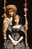 TWELFTH NIGHT   by Shakespeare   director: Peter Hall <br>,l-r: Maria Miles (Viola), Sara Crowe (Olivia)   ,Playhouse Theatre, London WC2               28/02/1991,