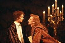 TWELFTH NIGHT   by Shakespeare   set design: John Gunter   costumes: Deirdre Clancy   director: Ian Judge <br>,Emma Fielding (Viola), Clive Wood (Orsino),Royal Shakespeare Company / Royal Shakespeare...