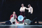 TWELFTH NIGHT   by Shakespeare   design: Anthony Ward   director: Adrian Noble <br>,opening scene, left front: Evroy Deer (Valentine)   rear: Scott Handy (Orsino)  ,Royal Shakespeare Company (RSC) / R...