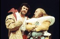 THE TAMING OF THE SHREW   by Shakespeare   design: Farrah   director: Clifford Williams <br>,Susan Fleetwood (Katharina), Derek Smith (Baptista),Royal Shakespeare Company (RSC) / Royal Shakespeare The...