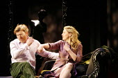 THE TAMING OF THE SHREW   by Shakespeare   director: Anne Tipton <br>,Richard Dillane (Petruchio), Flora Montgomery (Katherina)   ,Bristol Old Vic / Bristol, England               03/05/2006   ,
