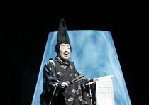 TWELFTH NIGHT   after Shakespeare   stage design: Yuichiro Kanai   lighting: Jiro Katsushiba   director: Yukio Ninagawa ~Onoe Kikugoro VII (Malvolio)~Shochiku Grand Kabuki / bite09 / Barbican Theatre,...