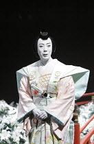 TWELFTH NIGHT   after Shakespeare   ~stage design: Yuichiro Kanai   lighting: Jiro Katsushiba   director: Yukio Ninagawa ~Onoe Kikunosuke V (Cesario)~Shochiku Grand Kabuki / bite09 / Barbican Theatre,...