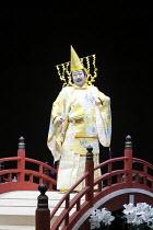 TWELFTH NIGHT   after Shakespeare   ~stage design: Yuichiro Kanai   lighting: Jiro Katsushiba   director: Yukio Ninagawa ~Onoe Kikugoro VII (Malvolio)~Shochiku Grand Kabuki / bite09 / Barbican Theatre...
