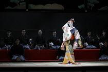 TWELFTH NIGHT   after Shakespeare   stage design: Yuichiro Kanai   lighting: Jiro Katsushiba   director: Yukio Ninagawa ~Onoe Kikunosuke V (Cesario)~Shochiku Grand Kabuki / bite09 / Barbican Theatre,...