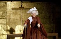 RICHARD II   by Shakespeare   design: Hildegard Bechtler   lighting: Peter Mumford   director: Deborah Warner ~Paola Dionisotti (Duchess of Gloucester)~Cottesloe Theatre / National Theatre, London SE1...