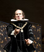 TWELFTH NIGHT   by Shakespeare   design: Anthony Ward   lighting: Peter Mumford   director: Peter Hall ~Simon Paisley Day (Malvolio)~Cottesloe Theatre / National Theatre (NT), London SE1  18/01/2011