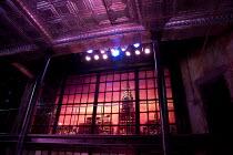 COMPANY   music & lyrics: Stephen Sondheim   design: Christopher Oram   lighting: Neil Austin   director: Jonathan Munby ~set   detail   New York   skyline~Crucible Theatre / Sheffield, England   05/1...