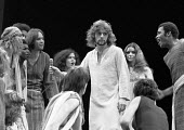 JESUS CHRIST SUPERSTAR   music: Andrew Lloyd Webber   lyrics: Tim Rice   director: Jim Sharman ~Paul Nicholas (Jesus) ~Palace Theatre, London W1   1972~(c) Donald Cooper/Photostage   photos@photostage...