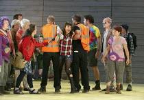 ROAD RAGE   music: Orlando Gough   libretto: Richard Stilgoe   conductor: Susanna Stranders   design: Rhiannon Newman Brown   lighting: Chris Vaughan   director: Karen Gillingham   led off protesting...