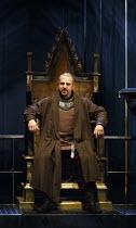 RICHARD II   by Shakespeare   design: Stephen Brimson Lewis   lighting: Tim Mitchell   director: Gregory Doran ~IV/i: Nigel Lindsay (Henry Bolingbroke)  ~Royal Shakespeare Company (RSC) / Royal Shakes...
