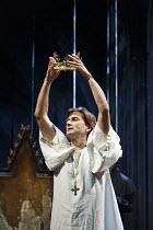 RICHARD II   by Shakespeare   design: Stephen Brimson Lewis   lighting: Tim Mitchell   director: Gregory Doran ~IV/i: David Tennant (King Richard II) ~Royal Shakespeare Company (RSC) / Royal Shakespea...