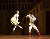 THE TAMING OF THE SHREW   after Shakespeare   choreography: John Cranko   music: Scarlatti  sets & costumes: Elisabeth Dalton ~Alicia Amatriain (Katherina), Alexander Jones (Petruchio)~Stuttgart Balle...