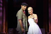 EVITA   music: Andrew Lloyd Webber   lyrics: Tim Rice   design: Matthew Wright   lighting: Mark Howett   choreographer: Bill Deamer   directors: Bob Thomson & Bill Kenwright ~Marti Pellow (Che), Madal...