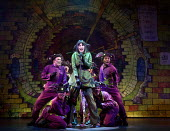 DICK WHITTINGTON AND HIS CAT   written by Tom Wells   set design: Oliver Townsend   costumes: Katie Lias   lighting: Tim Deiling   choreography: Lainie Baird   director: Dan Herd centre: Tiffany Grave...