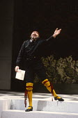 TWELFTH NIGHT by Shakespeare design: Ultz lighting: Mick Hughes director: Griff Rhys Jones Freddie Jones (Malvolio)Royal Shakespeare Company (RSC), Royal Shakespeare Theatre, Stratford-upon-Avon, Engl...