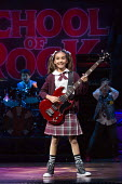 Selma Hansen (Katie) in SCHOOL OF ROCK The Musical by Andrew Lloyd Webber opening at the New London Theatre, London WC2 on 14/11/2016 composer: Andrew Lloyd Webber book: Julian Fellowes lyrics: Glenn...