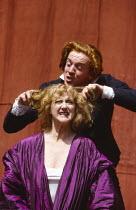 HAMLET by Shakespeare  design: Tanya McCallin  director: Tim Pigott-Smith   Damian Lewis (Hamlet), Pamela Miles (Gertrude)  Open Air Theatre (OAT), Regent's Park, London NW1  15/05/1994  Donald Cooper...